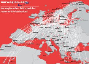 Norwegian_destinazioni